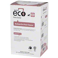 E33 Eco 1.25L Floor Cleaner  Floral Fragrance 4/cs