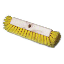 YELLOW POLY MULTI LEVEL BRUSH W/PLASTIC BLOCK EA