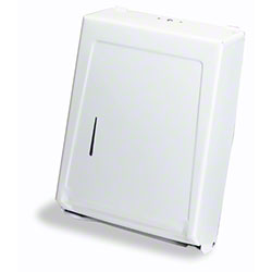 990W MULTI-FOLD & C-FOLD TOWEL CABINET DISPENSER WHITE
