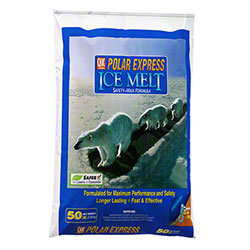 Milazzo Qik Joe Polar Express Ice Melt - 50 lb. Poly Bag