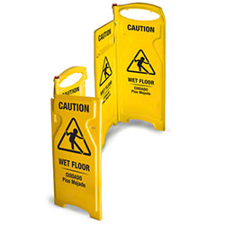 Wet Floor & Caution Signs