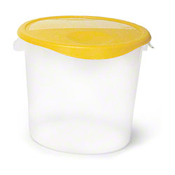 Rubbermaid® Round Storage Container - 22 Qt., White