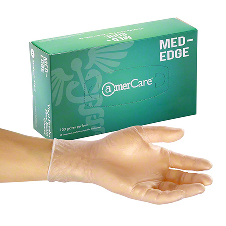 AmerCare® Med-Edge Powder-Free Vinyl Exam Glove - Large