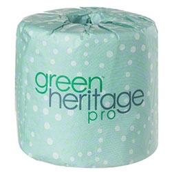 "Green® Heritage Pro 2 Ply Bath Tissue - 4.0"" x 3.1"""