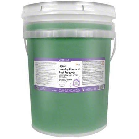 US Chemical Laundry Sour & Rust Remover - 5 Gal. Pail