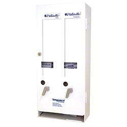 Impact® J1 Feminine Dual Dispenser - White