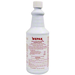 Wepak® Non Acid Bathroom Disinfectant - Qt.