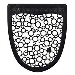 Fresh P-Shield Urinal Mat - Black/White