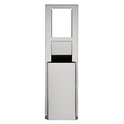 GP Recessed Trash Receptacle - Stainless