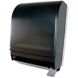 Impact® Plastic Roll Towel Lever Dispenser - Smoke