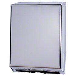Impact® Metal Combo Towel Dispenser - Chrome