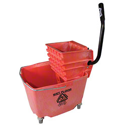 Impact® Red Sidepress Squeeze Wringer Bucket Combo