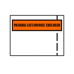 "Jannel Packing List/Invoice Envelope-4 1/2""x5 1/2"", Backload"