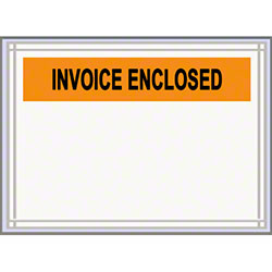 "LPS Pres-Quick® Invoiced Enclosed Envelope - 4.5"" x 5.5"""