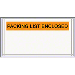 LPS Pres-Quick® Packing List Enclosed Envelopes