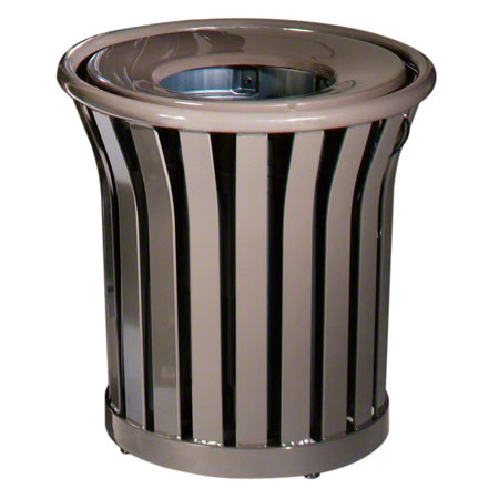 Rubbermaid® Americana Series™ Container -35 Gal.,Bronze