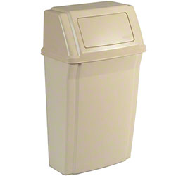 Rubbermaid® Slim Jim® Wall Mounted Container - Beige