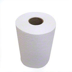 "White Roll Towels - 8"" x 800'"