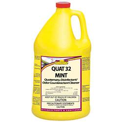 Simoniz® Quat 32 Mint Disinfectant Germicidal - Gal.