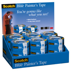 "3M™ ScotchBlue™ Painter's Tape 2090-24E - 1"" x 60 yd."