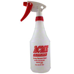 Acme 750mL Spray Bottle w/Reg Trigger