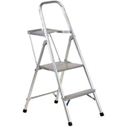 Allright 264 Aluminum Light Duty Platform Ladder - 2'