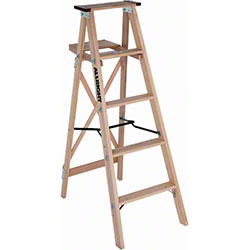 Allright 504 Heavy Duty Industrial Wood Stepladders