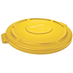 Rubbermaid® BRUTE® 20 Gal. Container Lid - Yellow
