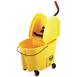 Rubbermaid® WaveBrake® Down Press Bucket & Wringer