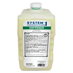 Diversey System-1 Laundry Fabric Softener - 3100 mL