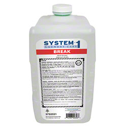 Diversey System-1 Break Laundry Alkali Booster - 3100 mL