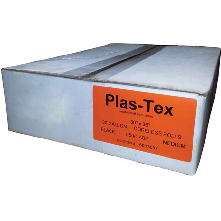 Plas-Tex Low Density Liner - 33 x 39, 1.6 mil EQ, Clear