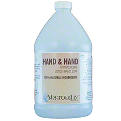Hand & Hand Antiseptic Pour Top  Hand Soap - Gal.