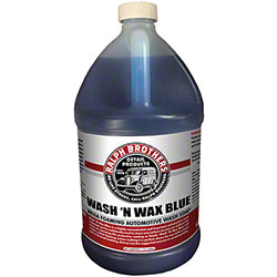 Wash 'N Wax Blue Mega Foaming Automotive Wash Soap