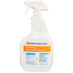 Clorox® Broad Spectrum Quaternary Disinfectant Cleaner Spray - 32 oz.