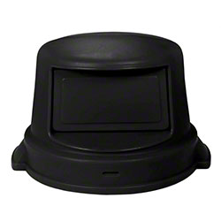 Continental Dome Top For 32 Gallon Huskee - Black