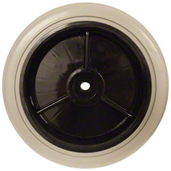 Continental Black Hub Wheel For 184 Cart - 8""