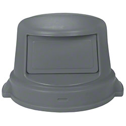 Continental Dome Top For 55 Gallon Huskee - Grey