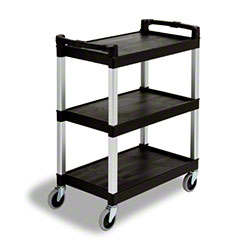 Continental Bussing/Utility Carts - Black