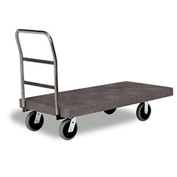 "Continental One Handle Platform Truck - 30"" x 60"", Utility"