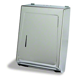 Continental Combo Towel Cabinet - Chrome