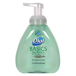 Dial® Basics Hypoallergenic Foaming Hand Wash - 15.2 oz.