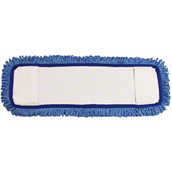 Golden Star® Ultra Looped-End Microfiber Mop Pad - Blue