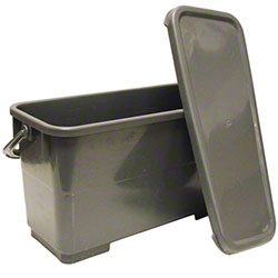 Golden Star® Microfiber Charging Bucket - Gray