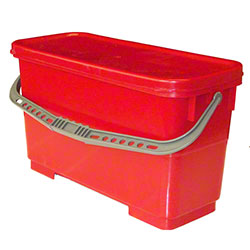 Golden Star® Microfiber Charging Bucket - Red