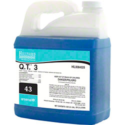 Hillyard Arsenal® 1 #43 Q.T. 3 Cleaner Disinfectant -2.5 L
