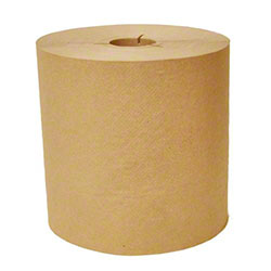 Y-Notched Natural Roll Towel - 800'