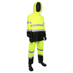 West Chester ANSI Class 3 Hi-Vis Rain Suits