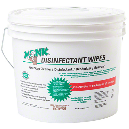 Monk™ Disinfectant Wipe - 800 ct.