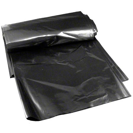 Low Density Can Liner - 33 x 39, 0.8 mil, Black